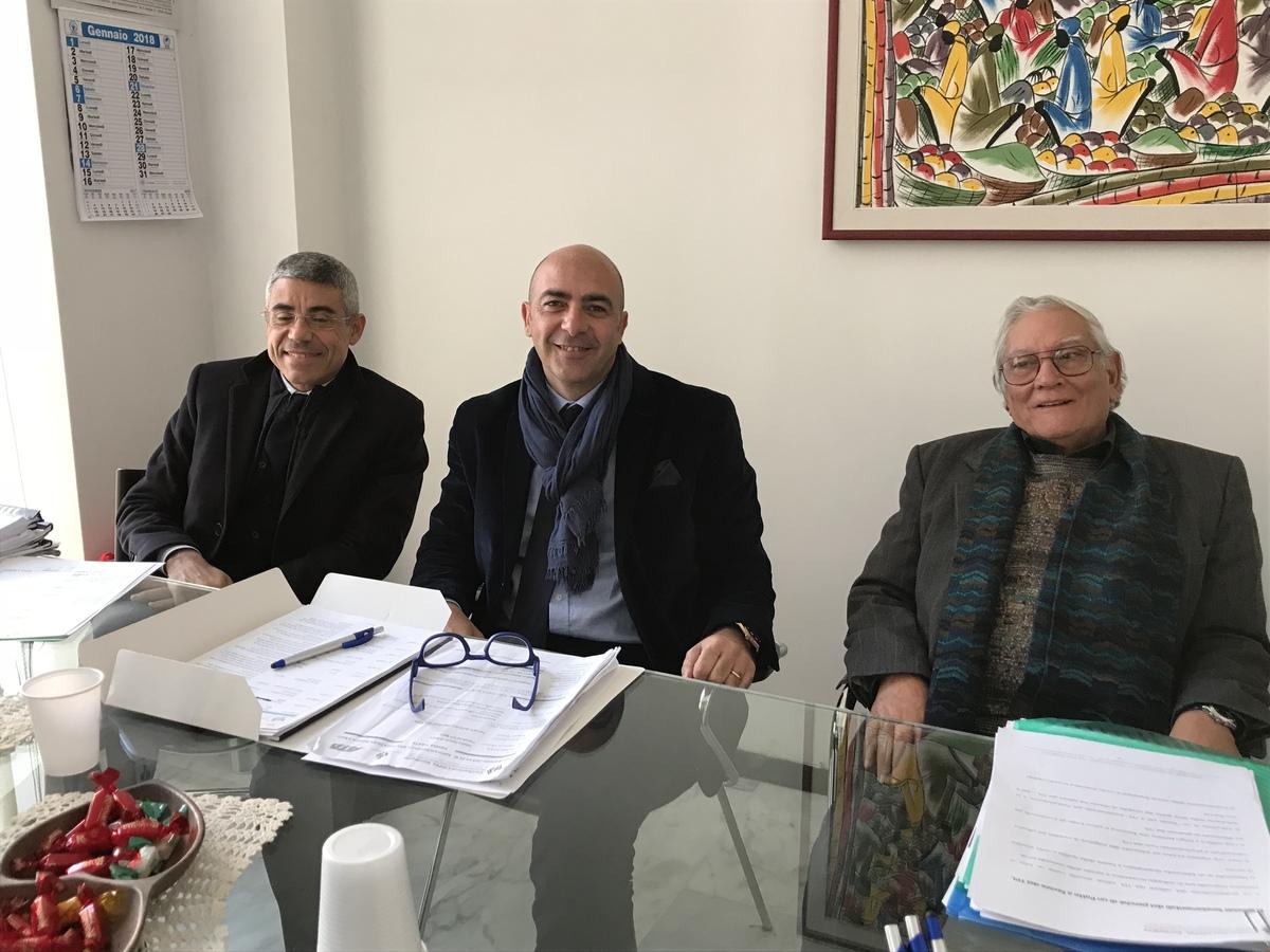 Roberto Murru, Stefano Flamini, Ottavio Castello