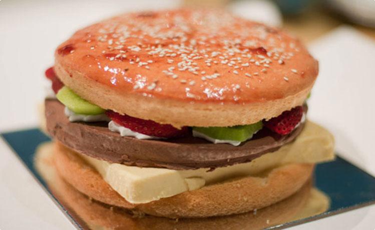 hamburge-cake