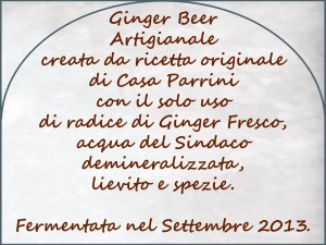 CasaParrini - Ginger Ale retro