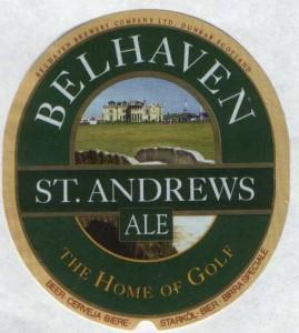 Belhaven St. Andrews Ale 1