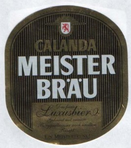 Calanda Meister Brau