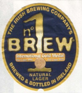 N° 1 Brew Natural Lager