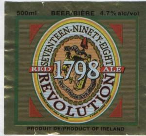 1798 Revolution  Red Ale