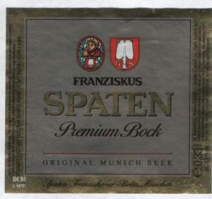 Spaten Premium Bock