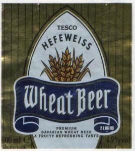 Tesco Hefeweiss Wheat Beer