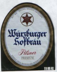 Wurzburger Hofbrau Pilsner Premium