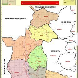 Carte Province du Maniema