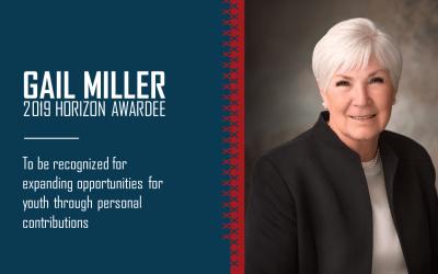 Gail Miller Selected as Horizon Award Recipient