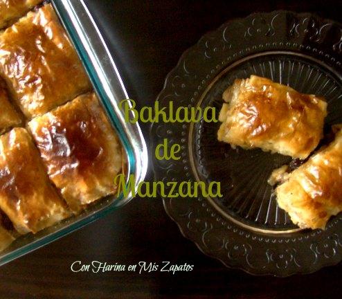 Baklava De Manzana