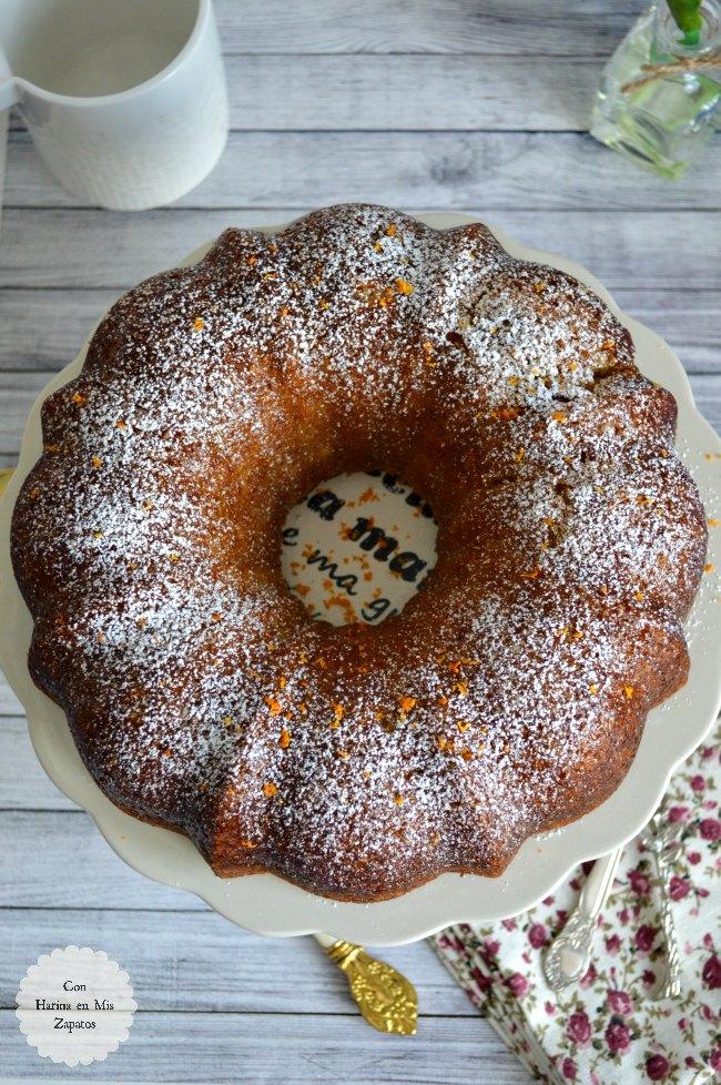 Bundt Cake de Naranja y Coco