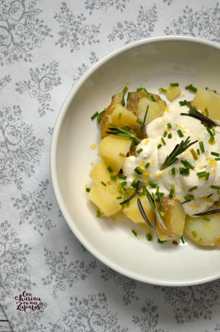 Ensalada de Patata y Salsa de Yogur
