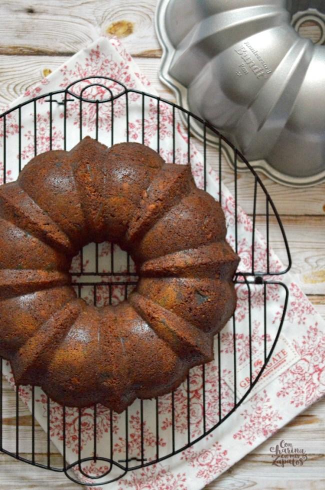 Bundt Cake de Higos Secos   CON HARINA EN MIS ZAPATOS