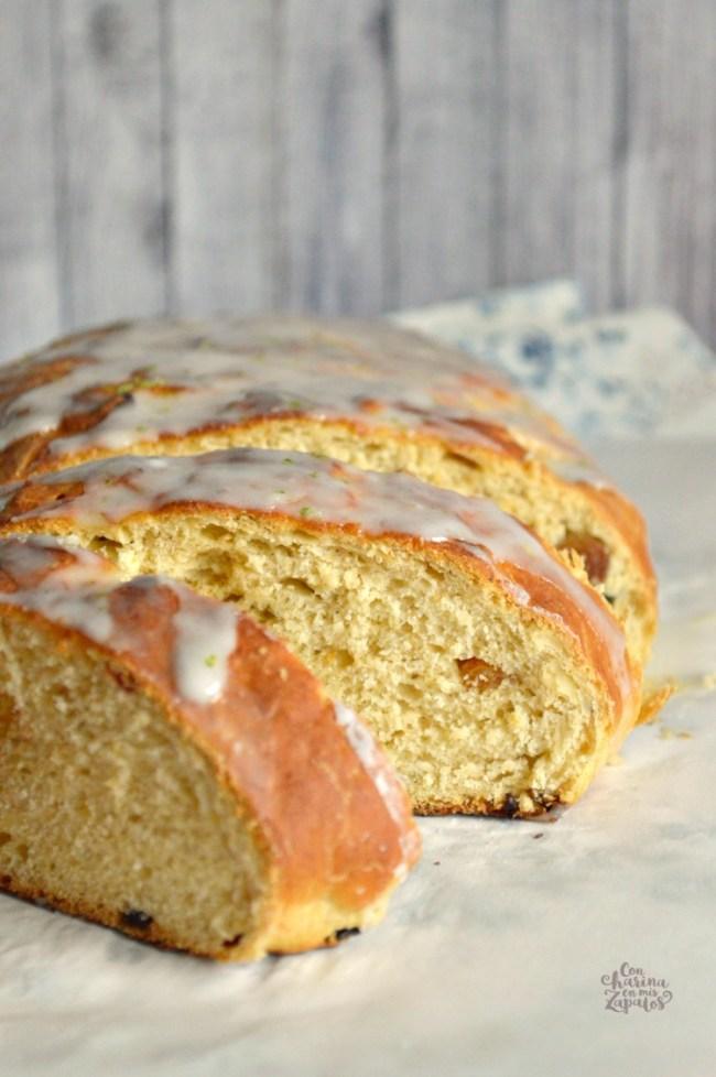 Pan Dulce de Limón y Cardamomo | CON HARINA EN MIS ZAPATOS