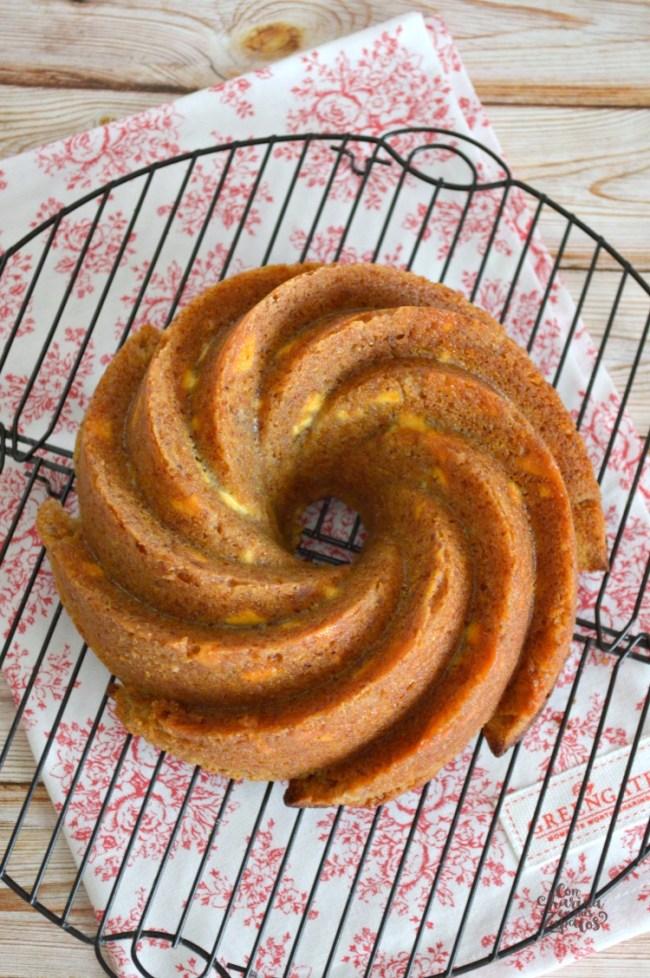 Bundt Cake de Mermelada y Chocolate Blanco | CON HARINA EN MIS ZAPATOS