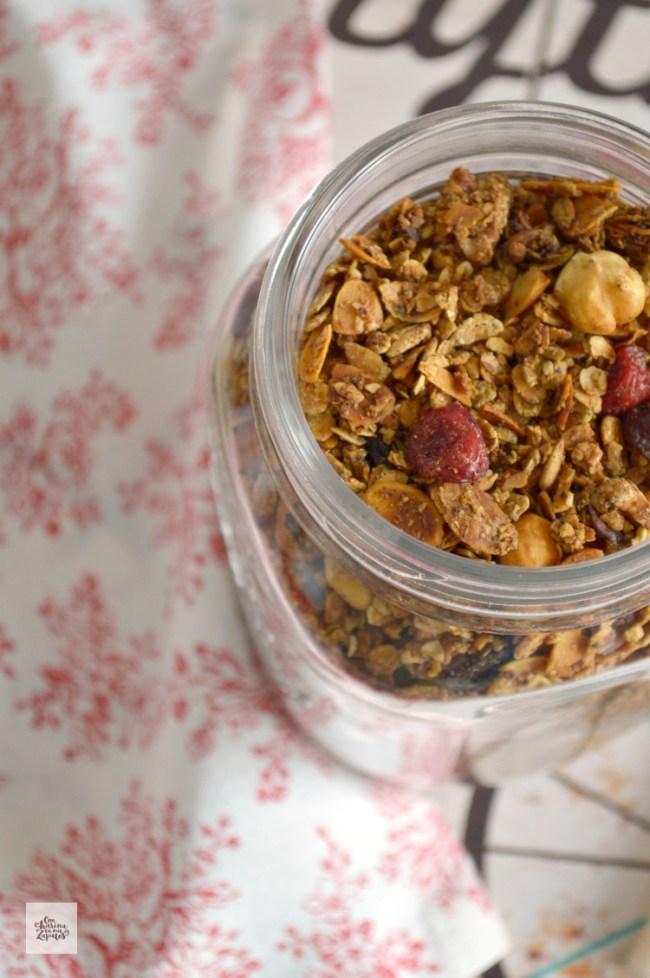 Granola. Desayunos sanos | CON HARINA EN MIS ZAPATOS