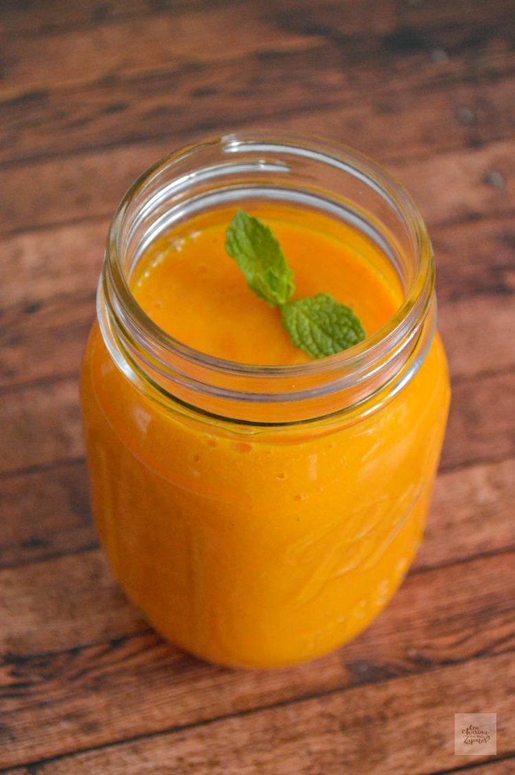 Smoothie de Mango y Zanahoria | CON HARINA EN MIS ZAPATOS