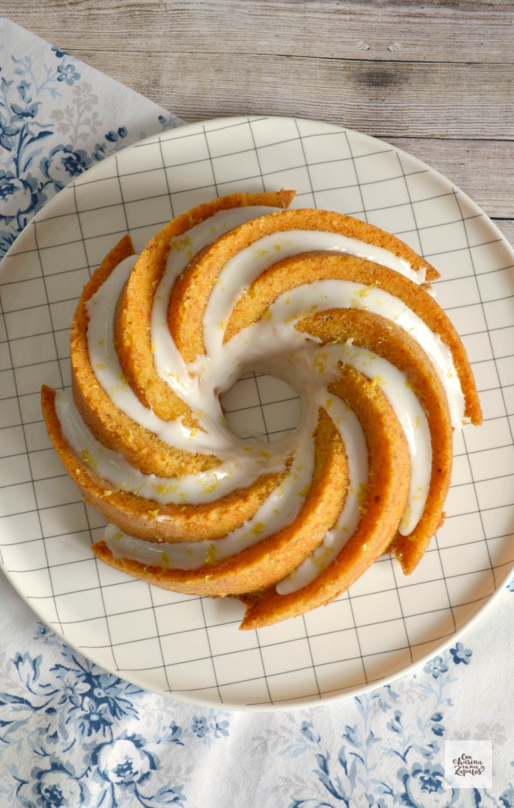 Bundt Cake de Limón y Cardamomo
