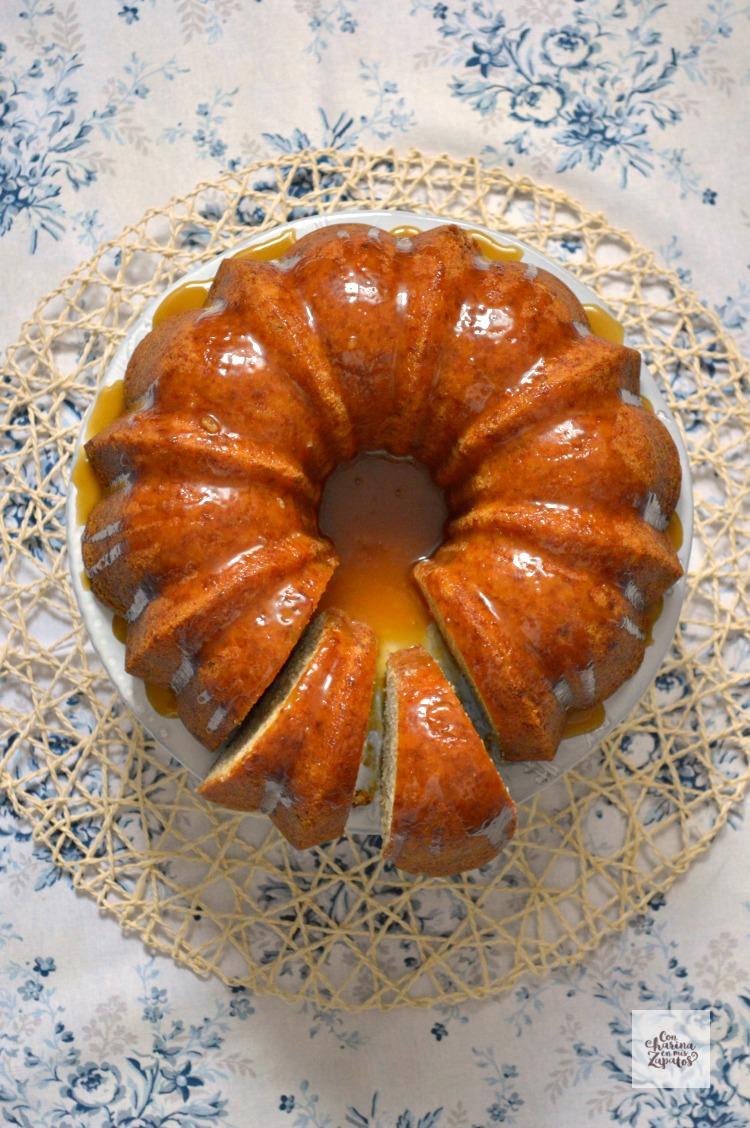 Bundt Cake de Plátano y Ron