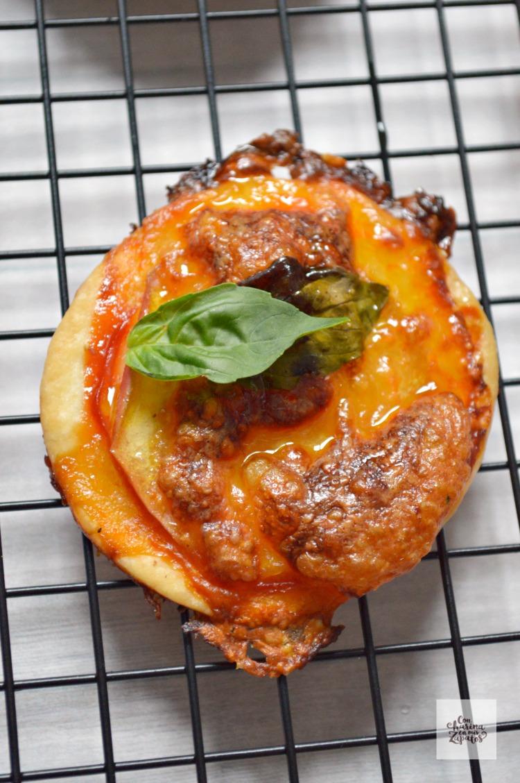 Pizzetas de Manzana| CON HARINA EN MIS ZAPATOS