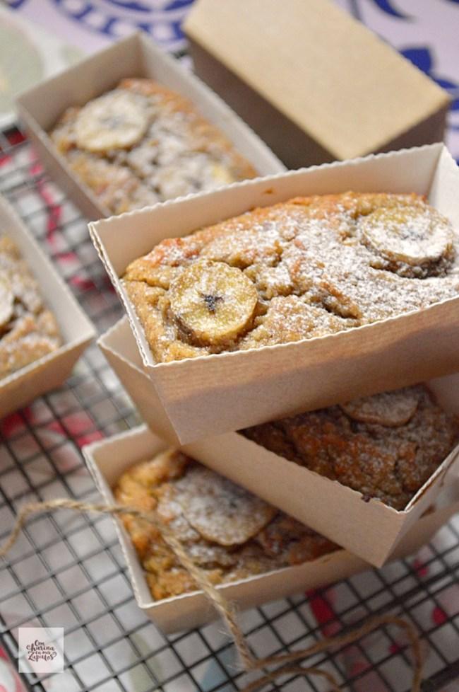 Bizcochitos de Plátano y Almendra | CON HARINA EN MIS ZAPATOS