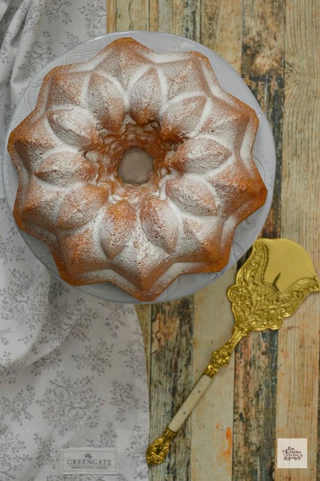 Bundt Cake de Lemon Curd | CON HARINA EN MIS ZAPATOS