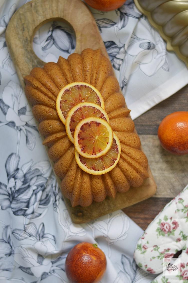 Bizcocho de Almendra, Yogur y Naranja