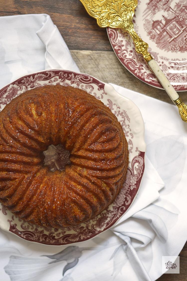 Bundt Cake de Naranja y Azahar