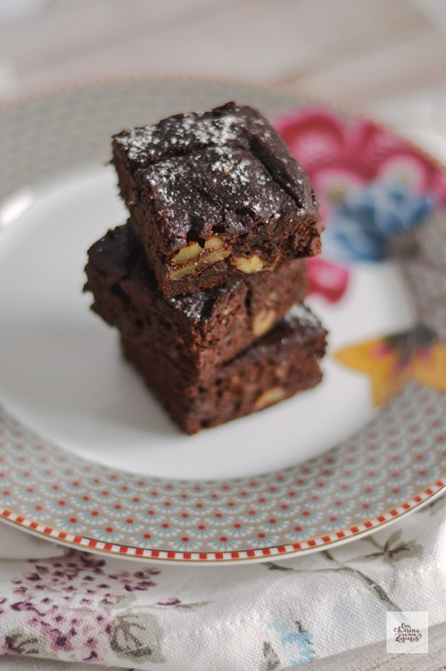 Brownie de Chocolate | CON HARINA EN MIS ZAPATOS