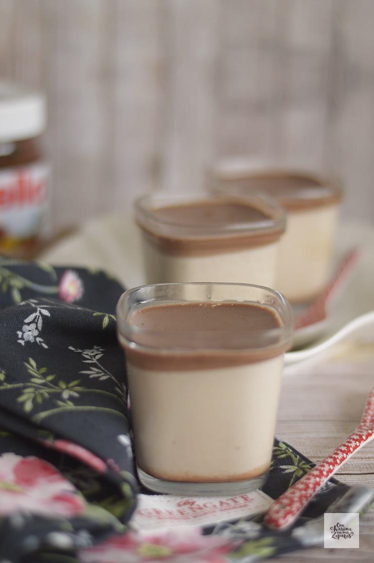Yogur de Nutella | CON HARINA EN MIS ZAPATOS