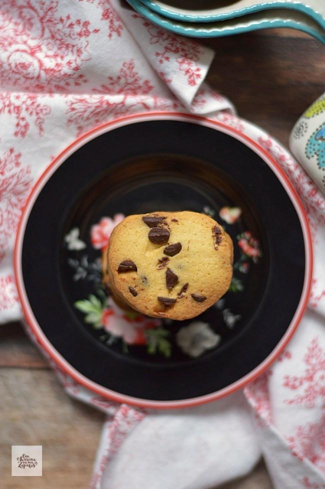 Galletas Sablé de Chocolate | CON HARINA EN MIS ZAPATOS