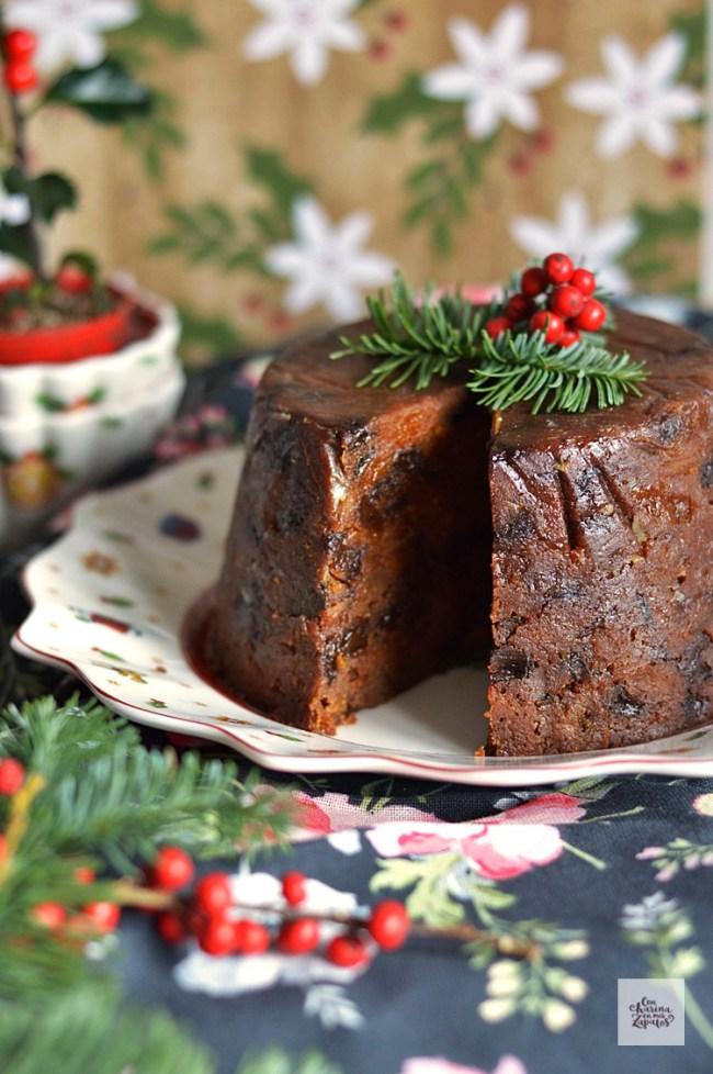 Christmas Pudding | CON HARINA EN MIS ZAPATOS