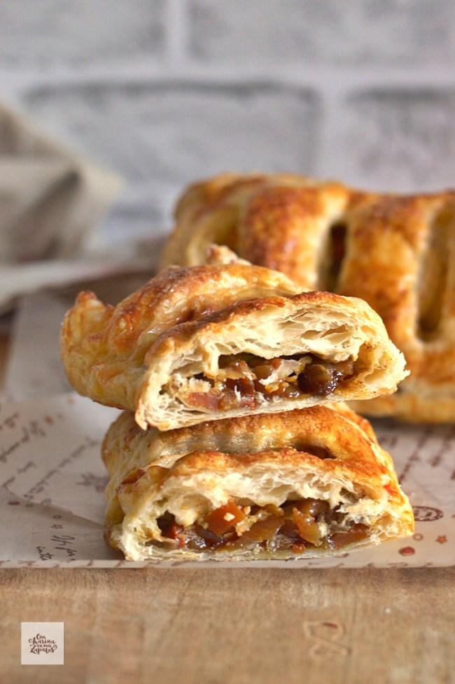 Empanadas de Queso y Chutney de Calabaza | CON HARINA EN MIS ZAPATOS