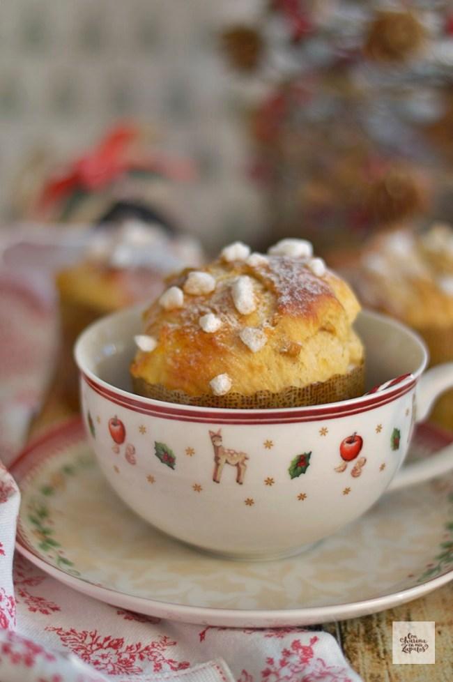 Panettone Muffins | CON HARINA EN MIS ZAPATOS