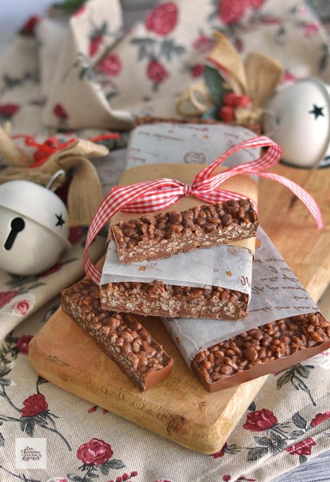 Turrón de Chocolate | CON HARINA EN MIS ZAPATOS