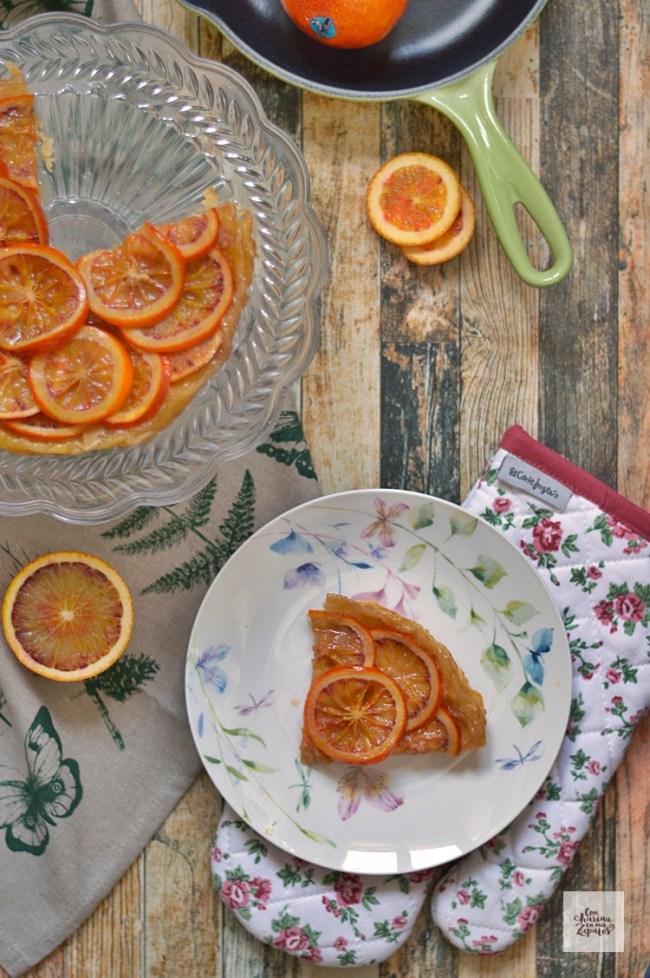 Tatin de Naranja Sanguina | CON HARINA EN MIS ZAPATOS