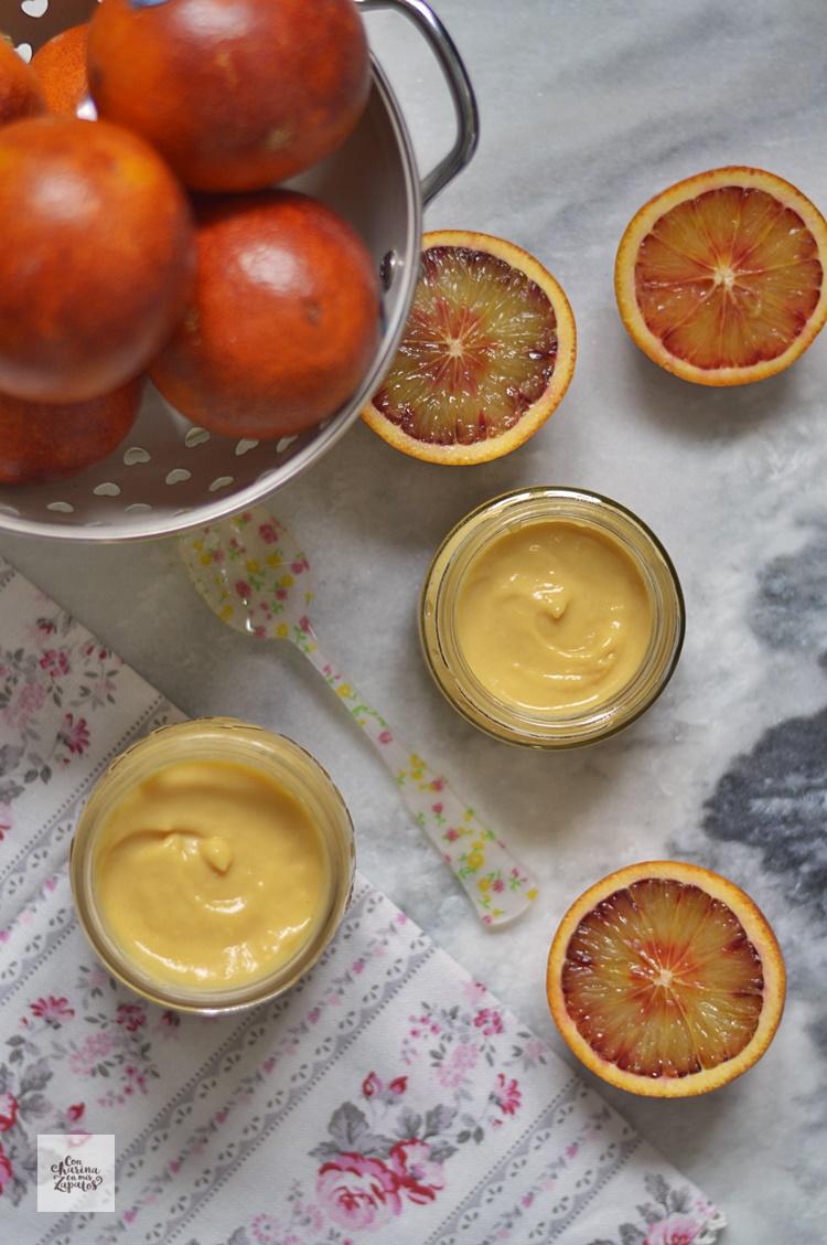 Crema (Curd) de Naranja Sanguina
