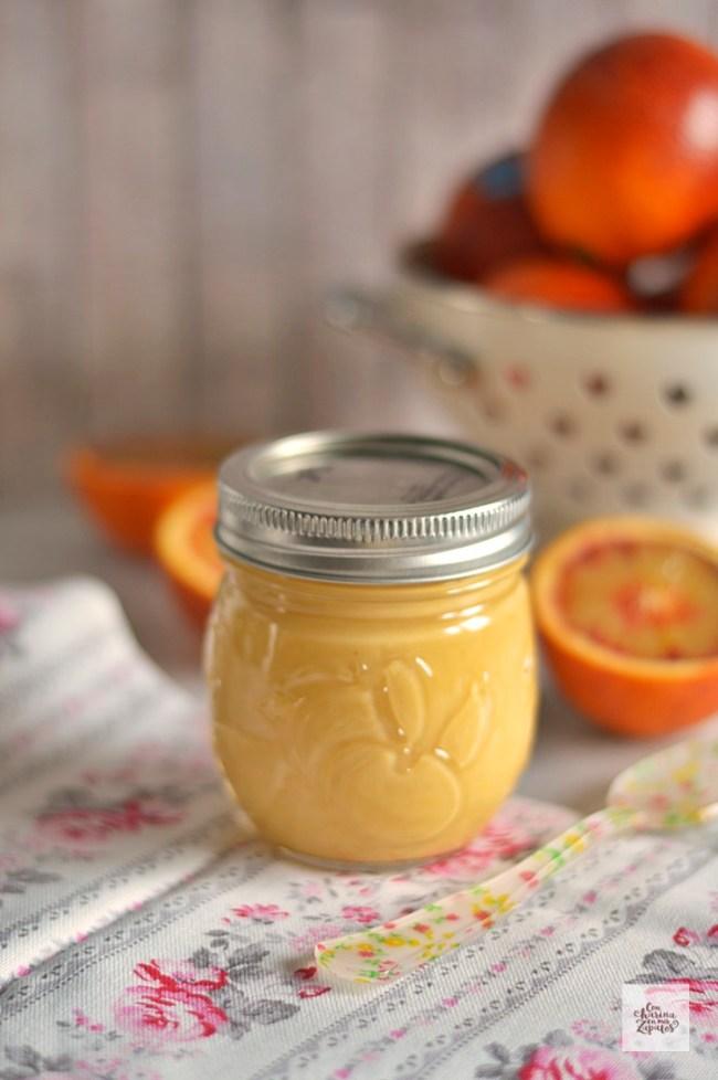 Crema de Naranja Sanguina-Blood Orange Curd | CON HARINA EN MIS ZAPATOS
