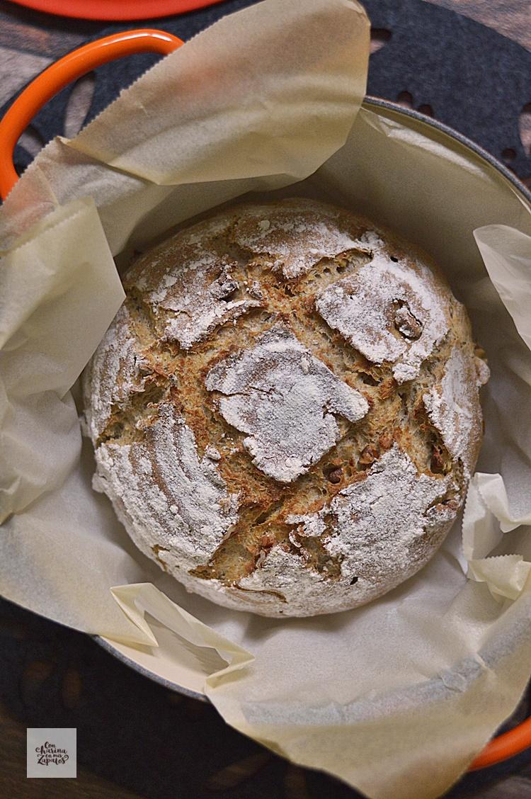 Pan de Frutos Secos | CON HARINA EN MIS ZAPATOS