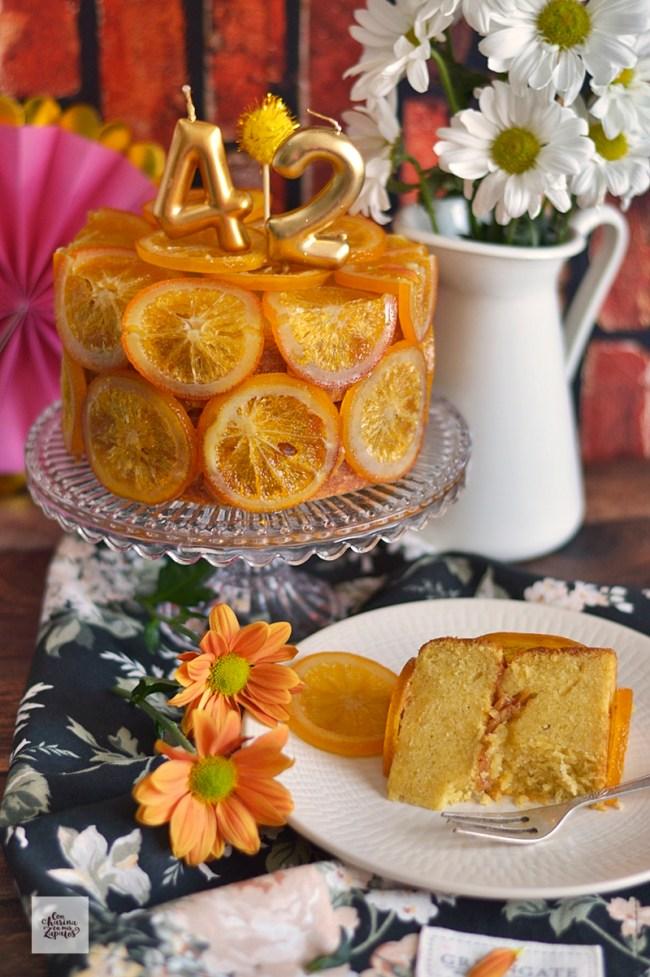 Pastel de Naranja y Aceite de Oliva | CON HARINA EN MIS ZAPATOS