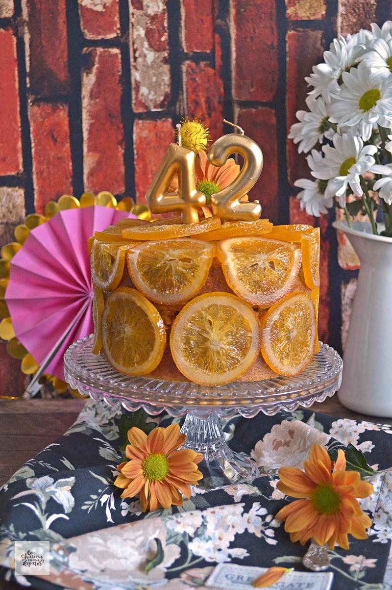 Pastel de Naranja y Aceite de Oliva