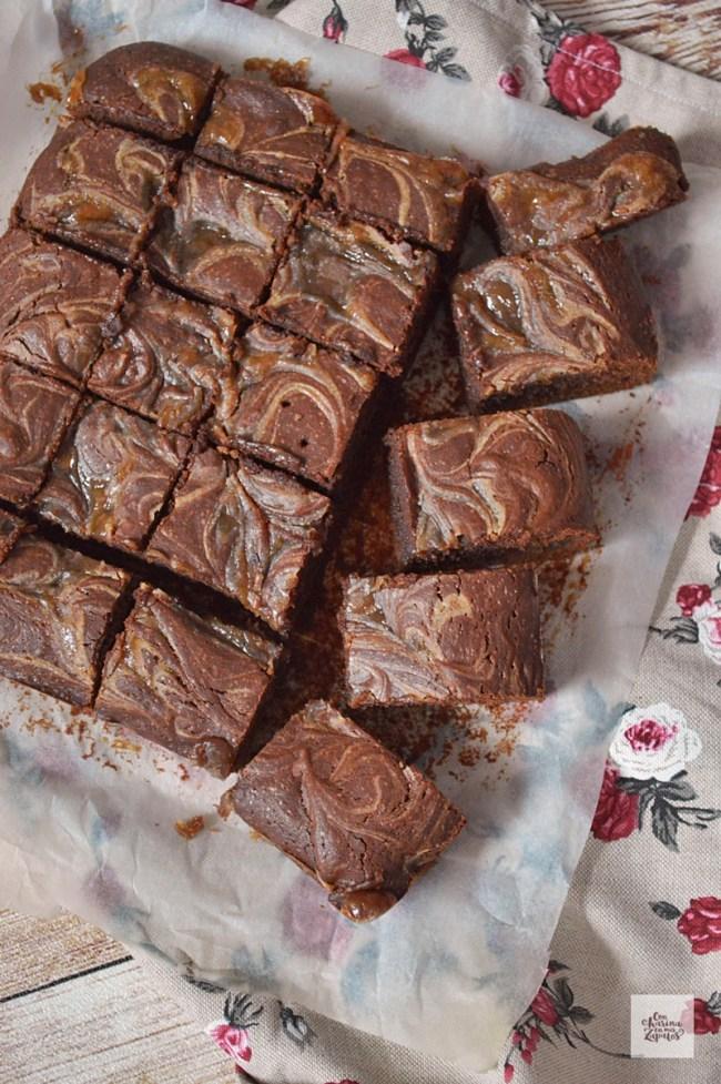Brownie de Castañas | CON HARINA EN MIS ZAPATOS