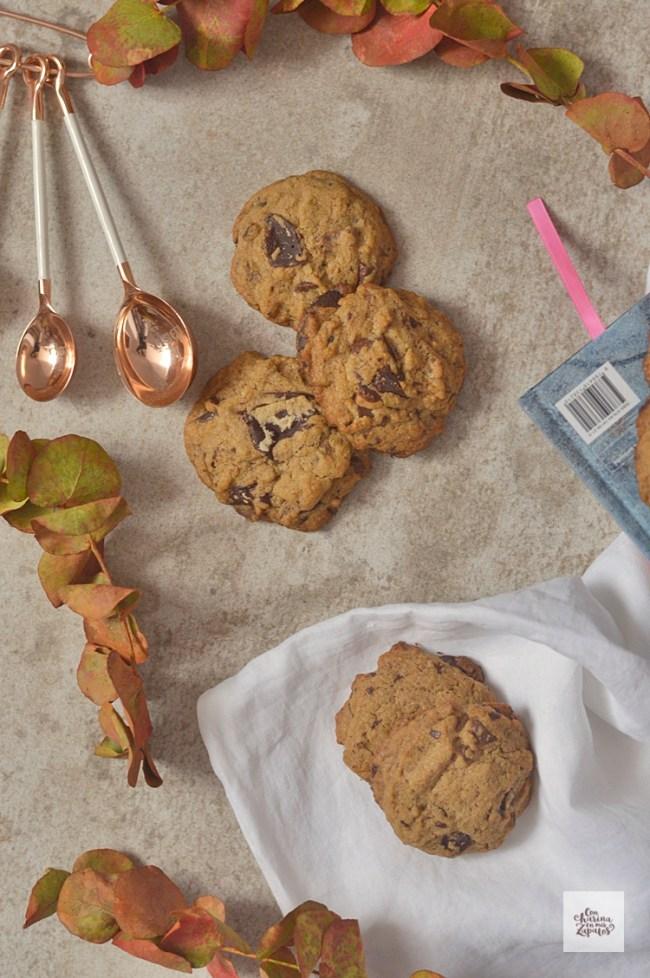 Galletas de dos chocolates | CON HARINA EN MIS ZAPATOS