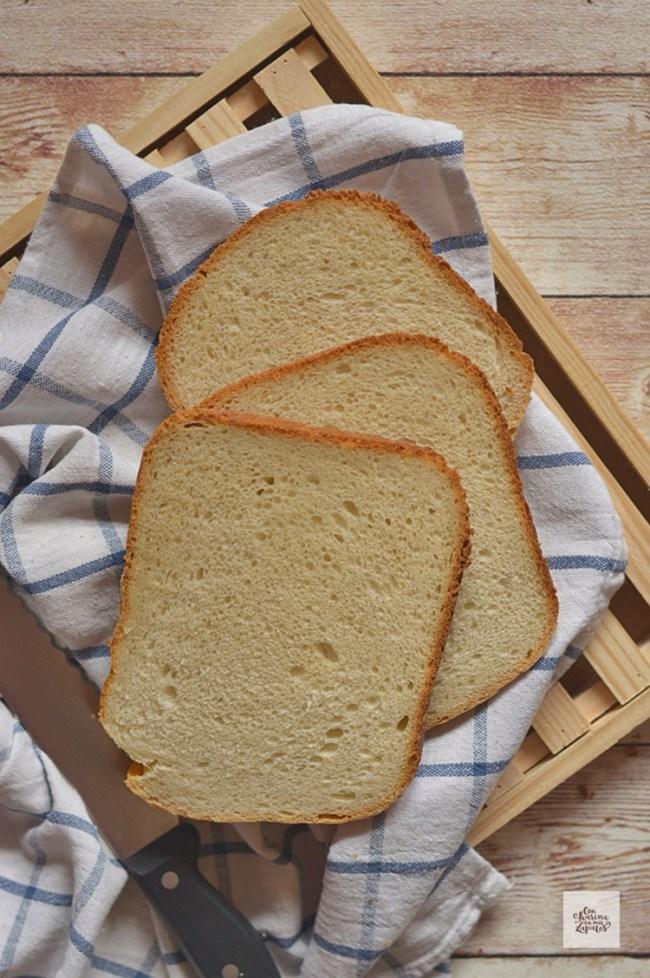 Pan de Yogur y Miel | CON HARINA EN MIS ZAPATOS