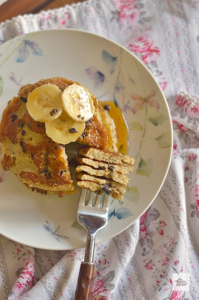 Tortitas de Avena y Plátano | CON HARINA EN MIS ZAPATOS