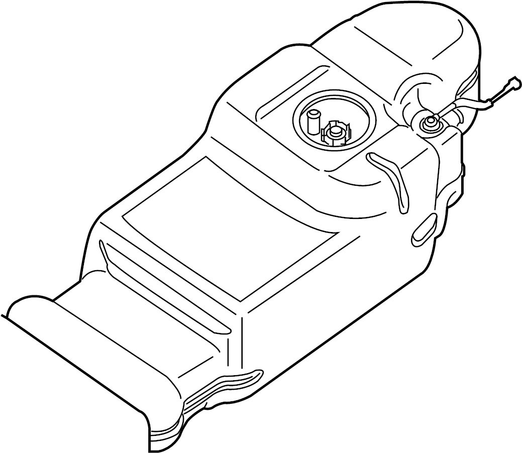 Nissan Frontier Fuel Tank