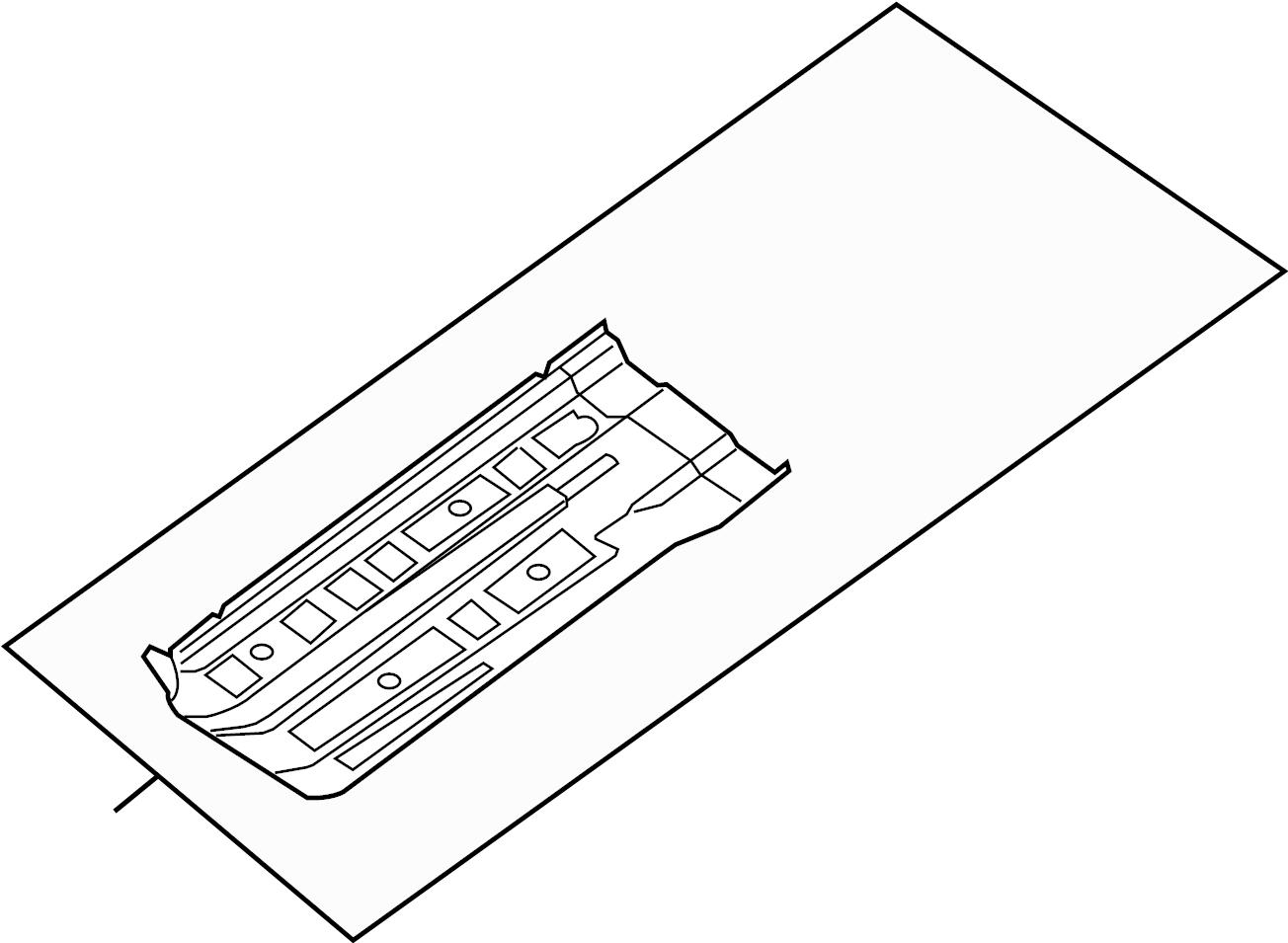 Nissan Maxima Floor Pan Right Front Panel