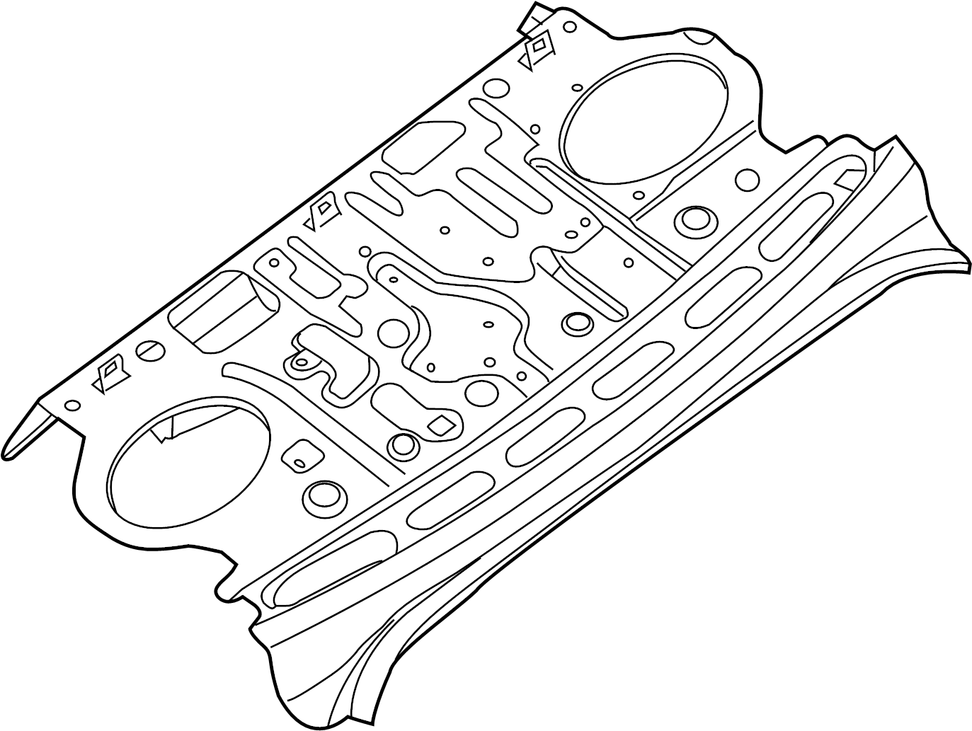 Nissan Maxima Package Tray Rear
