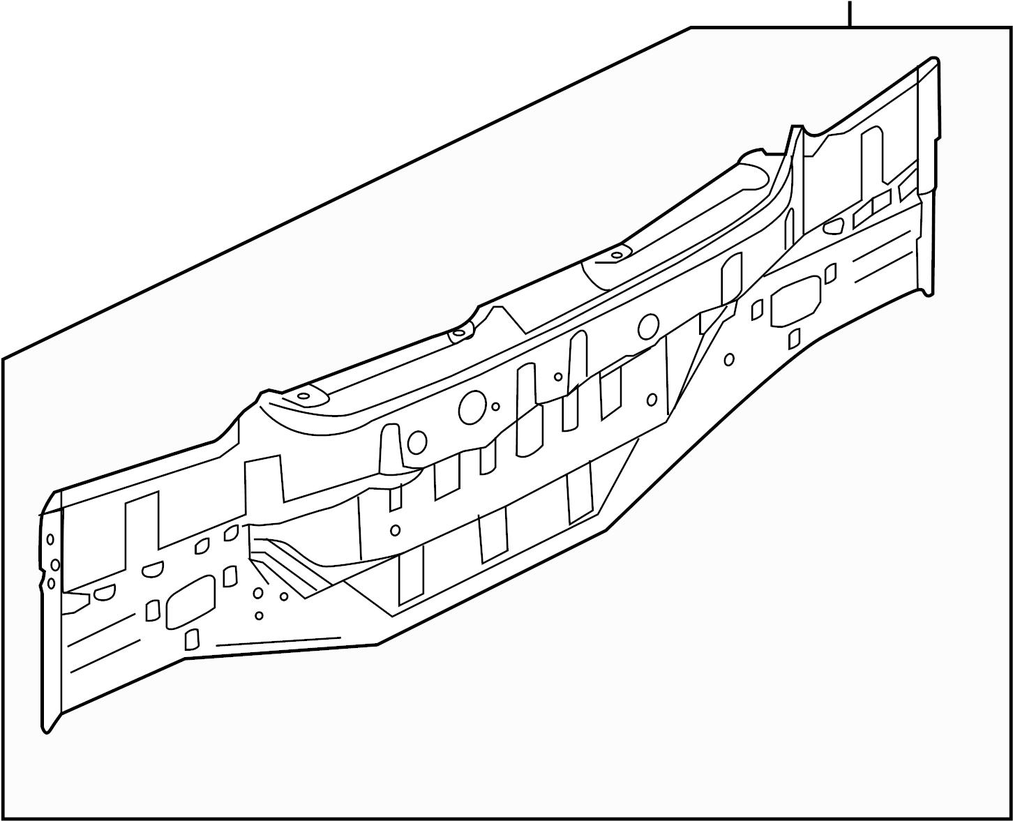 Nissan Maxima Rear Body Panel Rear Upper