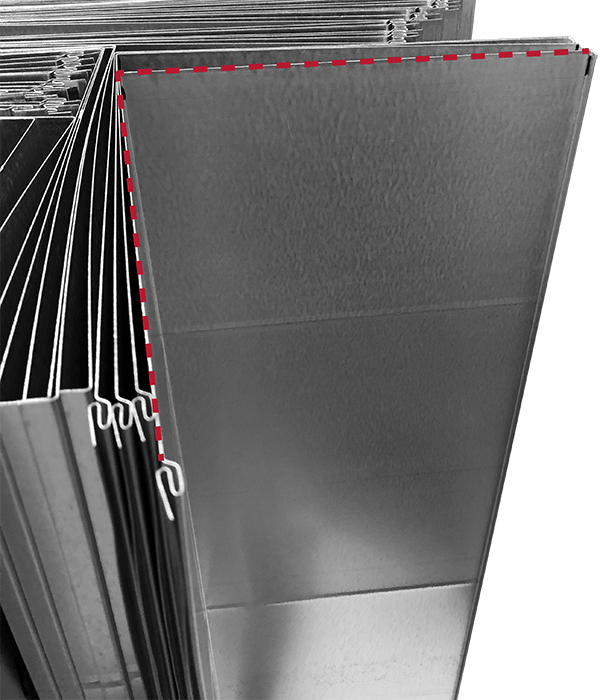 V Notch and Corner Notch – Conklin Metal Industries