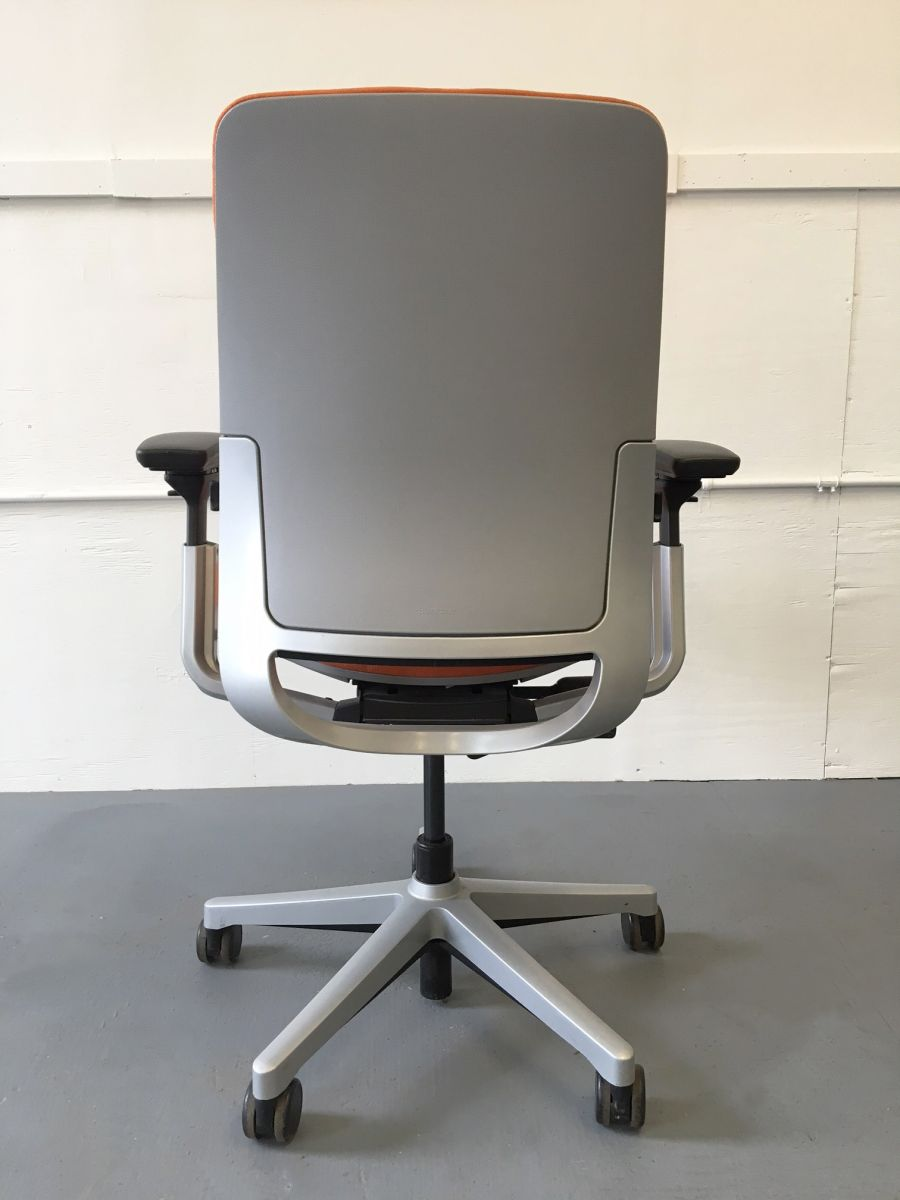 Steelcase Amia Task Chair Orange C61155C Conklin Office Furniture